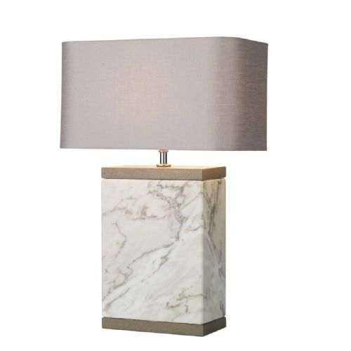 Inca Table Lamp Large Marble Base Only INC4302 (7-10 day Delivery)